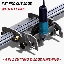 Imt Pro Cut Edge Makita Motor Rail Saw, Grinder/ Polisher For Granite- 6 Ft Rail