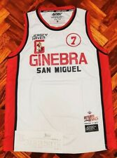 ROBERT JAWORSKI GINEBRA PBA LEGENDS GAME LIMITED EDTN JERSEY  PACQUIAO ONE SIZE