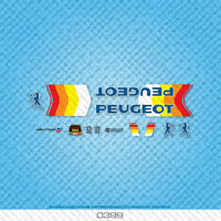 Set 399 Transfers Stickers Peugeot Bicycle Decals