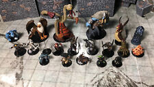 Lot Of 21 Pathfinder D&D Minis - Dungeons Deep