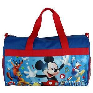 New Disney Kids' Mickey Mouse Travel Duffle Bag