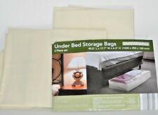 """Vanderwall Under Bed Storage Bags 2 Piece Set 40.5"""" X 17.7"""" X 6.3"""""""