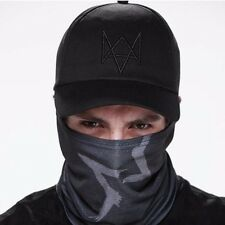 Watch Dogs Aiden Pearce Black Half Mask Face Costume Cosplay Neck Watchdogs Game