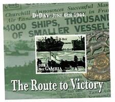 VINTAGE CLASSICS - Gambia 0521 World War II D-Day - Souvenir Sheet - MNH