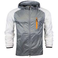Abrigos y chaquetas de hombre grises Nike talla M