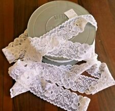 Passamanerie ricamato bianco per l'hobby del cucito