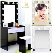 Hollywood LIGHT Up LED Tavolino Da Toeletta & Parete Specchio Cosmetico VANITY