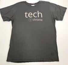 Apolis Global Citizen T-shirt Size Large Gray Basic Knit Tech Chrome Technology
