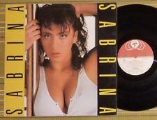 SABRINA, SELF TITLED, LP 1987 ORIGINAL FRANCE EX-/EX ITALO DISCO