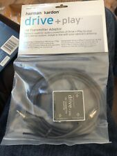 Harman Kardon FM drive + play FM Transmitter Adapter DPFMT 1US NEW