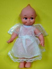 "Adorable 1999 Jesco Kewpie Rose Oneill Angel Christmas Poseable Doll 7.5"""