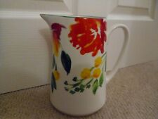 Laura Ashley 'Farnley' Painted Floral Jug ( 8 x 8 x 5 inches)