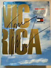 """Autographed Tommy Hilfiger """"Iconic America"""" book. Signed on the front cover!!!"""