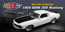 """FORD MUSTANG BOSS 302 1969 """"NICE CAR COLLECTION SERIES #9"""" ACME 1:18"""