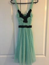 Women's Jane Norman Formal Dress Turquoise Size 10