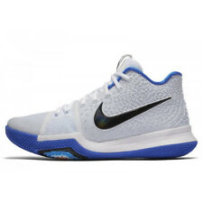 New Nike Kyrie 3 White Blue Black Basketball Shoes sz 14 $120