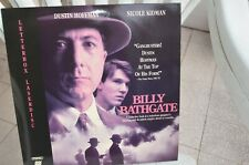 BILLY BATHGATE with Dustin Hoffman and Nicole Kidman - LaserDisc - FREE POST