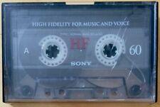 SONY HF 60 CASSETTE TAPE KORG POLY-800 SYNTHESIZER PRELOADED SOUND DATA