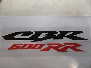 CBR 600RR Graphics/Decals