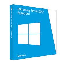 Microsoft Windows Server 2012 64bit Standard Original Lizenz Key
