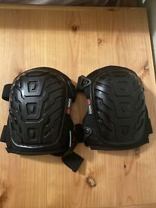 NoCry Heavy Duty Leather Knee Pads Double Thick Lining Double Thick Felt NEW