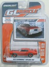 GREENLIGHT GL MUSCLE SERIES 11 1972 OLDSMOBILE CUTLASS 442 Flame Orange