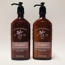 2 Bain & Corps Works aromathérapie confort VANILLE PATCHOULI Lotion corporelle