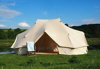 6 x 4 Metre Emperor Bell Tent 100% Canvas with ZIG by Bell Tent Boutique.