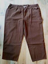 Witt International Women's Elasticated Waist Jeans Size 28 Petite BNWT Brown