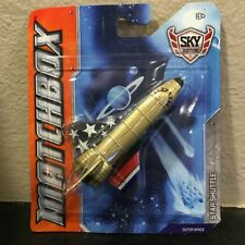 Matchbox Sky Busters STAR SHUTTLE outer space die-cast metal golden color