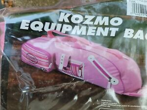 Baseball/Softball Louisville Slugger Kozmo Equipment Bag, Pink/White/Black, NIP