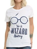 Harry Potter YER A WIZARD HARRY Girls Women's T-Shirt NEW Licensed & Official