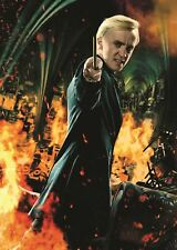 DRACO MALFOY HARRY POTTER POSTER ART PRINT PICTURE A3 11.7 × 16.5 INCH AMK1730
