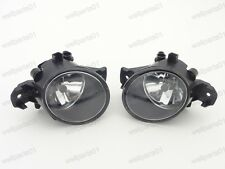 1Pair Front Fog Driving Lamps Lights For Nissan Qashqai 2008-2014