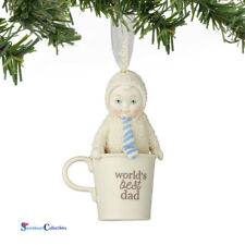Department 56 Snowbabies 4051899 World's Best Dad Ornament New 2016