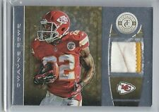 2013 TOTALLY CERTIFIED GOLD PARALLEL PATCH PRIME DWAYNE BOWE /25 CHIEFS DIRTY