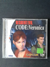 Sega Dreamcast  RESIDENT EVIL CODE VERONICA - US NEUF-New FACTORY SEALED