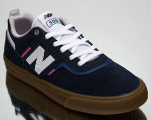 New Balance Numeric 306 Men's Navy Pink Athletic Skate Lifestyle Sneakers Shoes