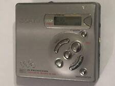 SONY MZ-R501 PERSONAL MD MINIDISC MINI DISC PLAYER / RECORDER WALKMAN EDIT MDLP