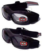 EVADER 1 [OTG] Over The Glasses Motorcycle Biker Goggles | FogStopper™ Coating
