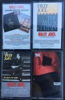 Billy Joel - Piano Man, Innocent, Nylon Curtain, Storm Front (Cassette Tape Set)