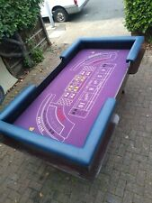 More details for craps table,  fun casino, easy assembly ( no legs) dice table