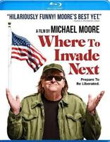 WHERE TO INVADE NEXT USED - VERY GOOD BLU-RAY