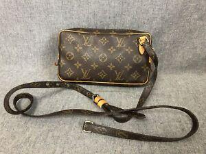 Authentic Louis Vuitton Shoulder Bag Pochette Marly Bandouliere M51828