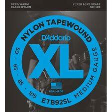 D'Addario ETB92SL Tapewound Super Long Scale Warm Medium Bass Strings 50-105