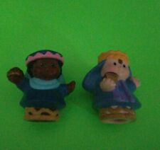 Fisher Price Little People 2 Wise Men Nativity Manger Christmas Figures Choice.