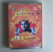 A.R. RAHMAN KARAOKE  DVD VOLUME TWO, ORIGINAL, BRAND NEW ,FACTORY SEALED