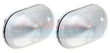 2x JOKON WHITE CLEAR FRONT MARKER LAMP LIGHT ELDDIS FIRESTORM MAJESTIC MOTORHOME