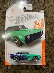 2021 Hot Wheels J Case ID Chase Falken '69 COPO Camaro 5/8  NEW!  VHTF!