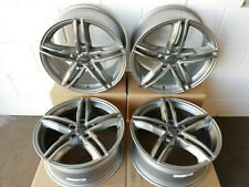 Audi A4 B8 Mercedes Felgen Wheelworld WH11 8,0 x 18 5 X 112 ET 45 Daytona Grau